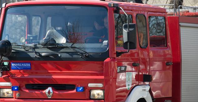 Dziś miał miejsce Pożar przy ul. Reja w Zielonej Górze