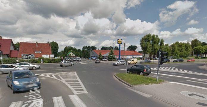 Rondo przy al. Wojska Polskiego w Zielonej Górze