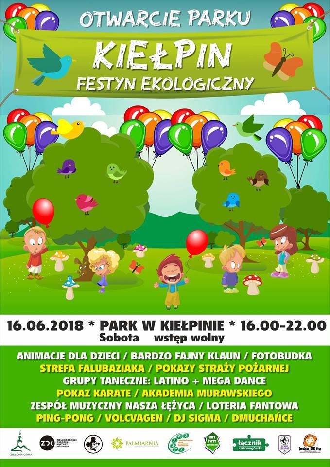 Nowy park w Kiełpinie- oficjalne otwarcie