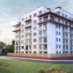 Nowy apartamentowiec w Zielonej Górze zaczyna rosnąć