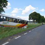 Wypadek autobusu z dziećmi na DK 32 wczoraj