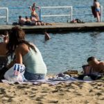 Zgon nad jeziorem Linie z powodu zawału serca