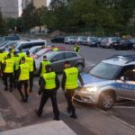 Policjanci podczas Winobrania