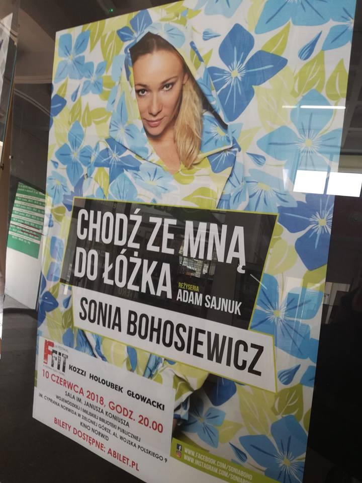 Monodram Chodź Ze Mną Do łóżka Sonia Bohosiewicz