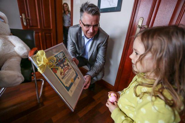 3-latka z Zielonej Góry uratowała życie człowiekowi