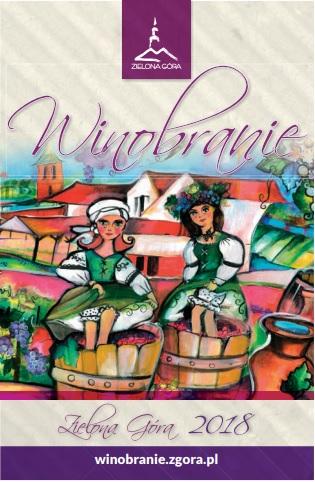 plakat Winobrania 2018