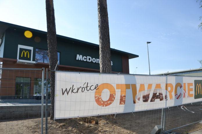 otwarcie McDonald's przy ul. Sulechowskiej