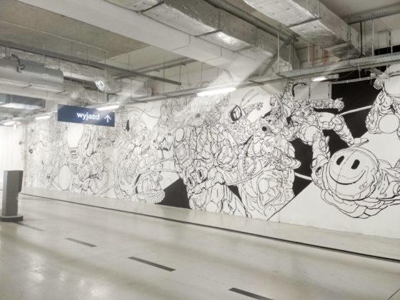 mural w Focus Mall