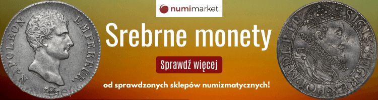 Srebrne monety - Numimarket.pl