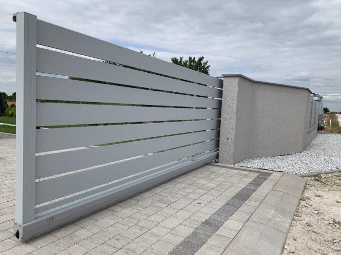 Bramy przesówne z aluminium ZALU