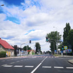 przejście przy ul. Sulechowskiej w Zielonej Górze