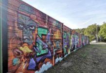 Graffiti na Trasie Północnej